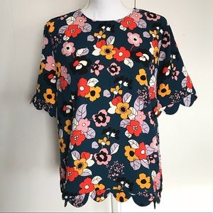 NEW Victoria Beckham Target floral pop scalloped